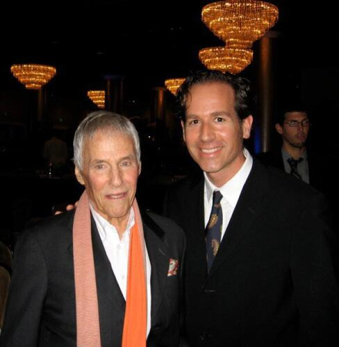 "<font color=""white"">Burt Bacharach, Beverly Hills Hotel</font>"